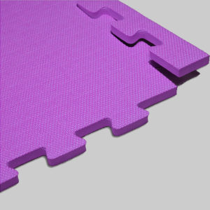 Мягкий пол. Фиолетовый.