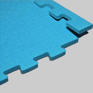 Мягкий пол. Голубой.