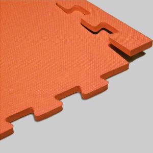 Мягкий пол. Оранжевый.