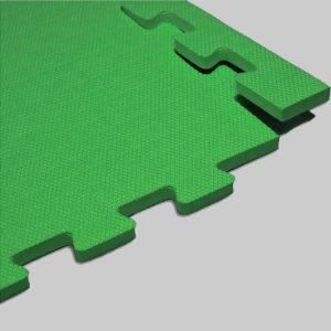 Мягкий пол. Зеленый.