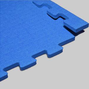 Мягкий пол. Синий.