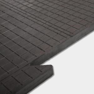 Резиновая модульная плитка ТехноПол 25 мм