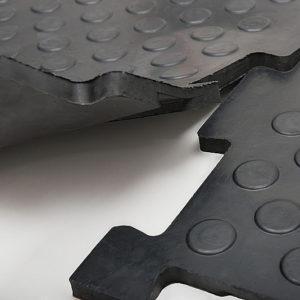 Резиновая модульная плитка Унидор 20 мм